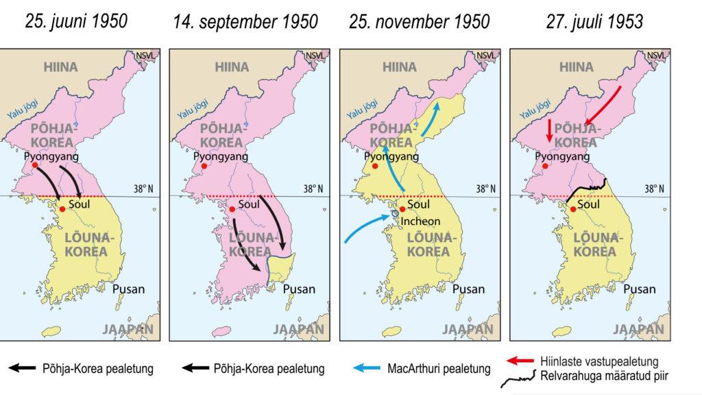 Korea sõda (õpik lk 53)