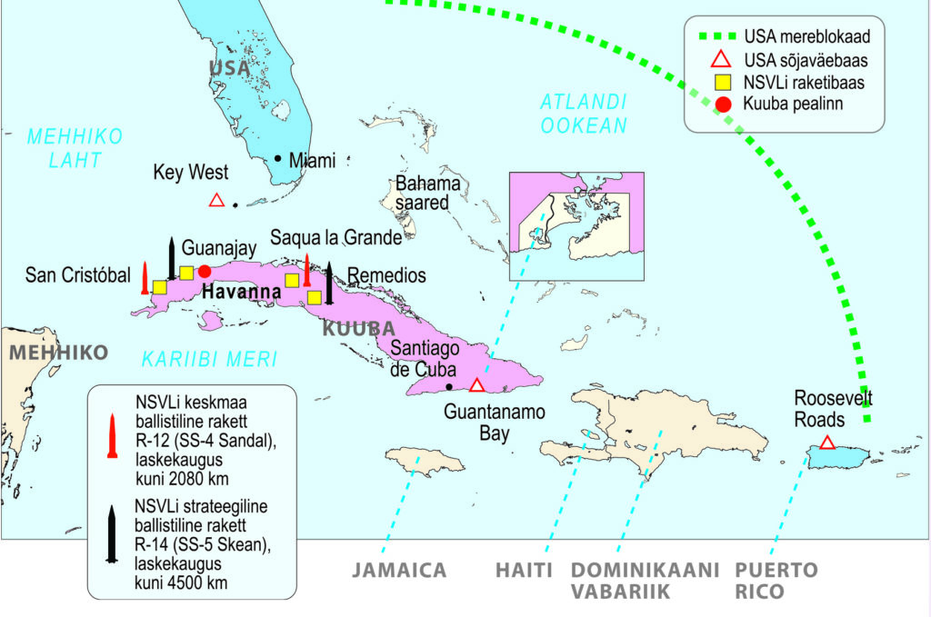 Kuuba kriis (õpik lk 103)