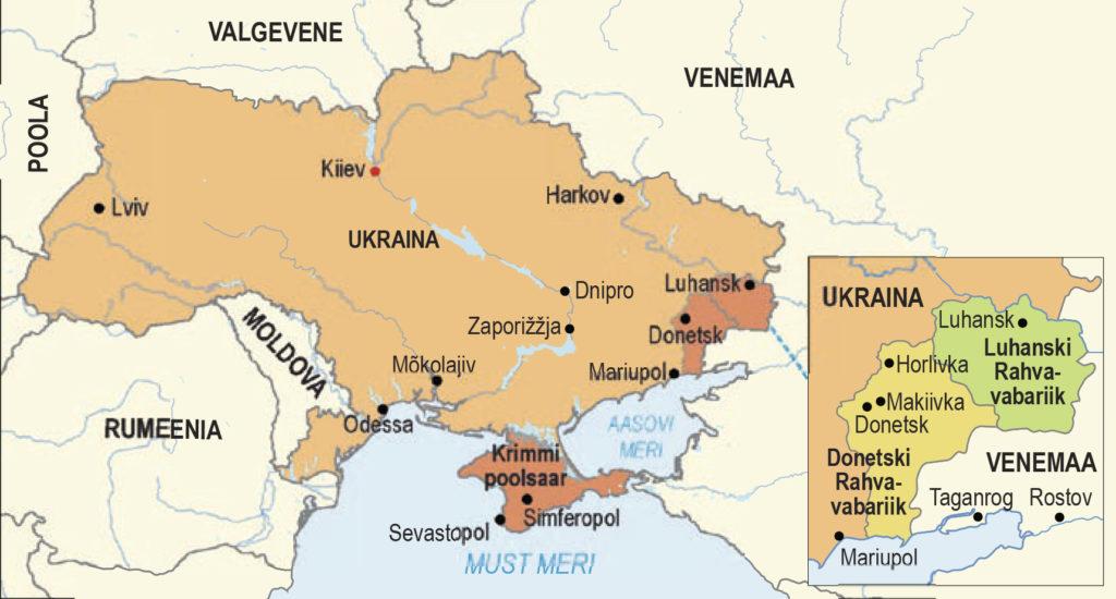 Sõda Ida-Ukrainas (õpik lk 244)