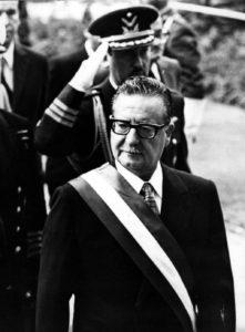 Salvador Allende (Allikas: Tšiili Rahvuskongressi raamatukogu / Wikimedia Commons)