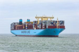 Mærsk Line konteinerlaev (Allikas: Corine van Kapel / shutterstock.com)